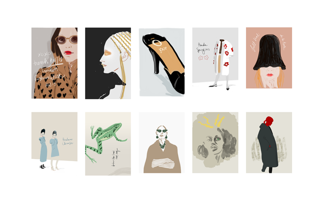 10 years in iIllustrations by Silvana mariani